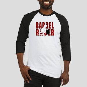 BARREL RACER [maroon] Baseball Jersey